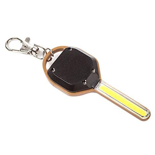ZREAL Mini Lampe de Poche à LED en Forme de clé Lampe de Poche de Secours