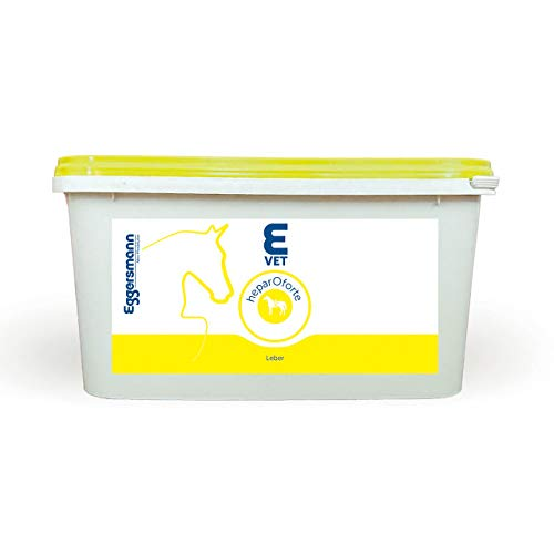 Eggersmann E Vet heparOforte – Ergänzungsfutter für Pferde und Ponies – Zusatzfutter für Leberprobleme – 2 kg Eimer