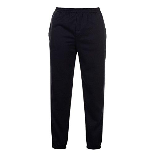 Slazenger - Pantaloni sportivi da uomo in pile, pantaloni da jogging e da palestra Blu mare XL