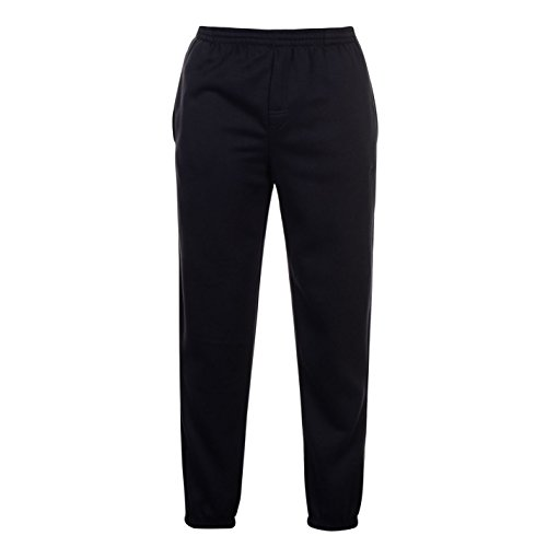 Slazenger Herren Fleece Sweatpants Jogginghose Fitness Trainingshose Sporthose Blau XXXX Large