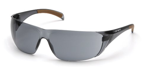 carhartt Billings Safety Sicherheitsbrille Arbeitsbrille Schutzbrille EG1ST (Grey)