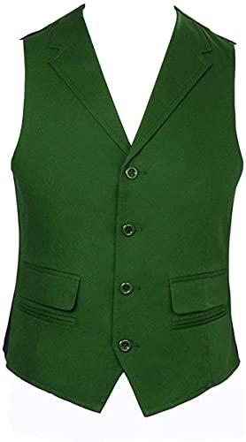 WPLHH Disfraz de disfraz de cosplay para adulto y hombre, disfraz de Joker, chaleco de corbata, juego de disfraz de Halloween para cosplay (color: chaleco, tamao: XL)