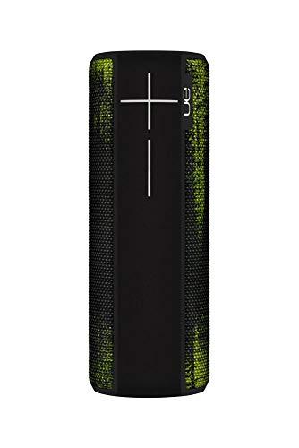 Ultimate Ears Boom 2 Tragbarer Bluetooth-Lautsprecher, 360° Sound, Wasserdicht und Stoßfest, App-Navigation, Kann mit weiteren Lautsprechern verbunden werden, 15-Stunden Akkulaufzeit - neon forest