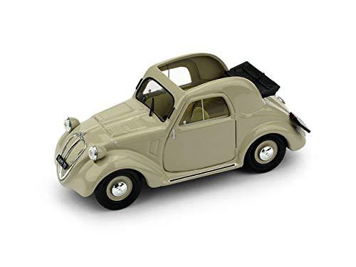 FIAT 500A TOPOLINO 1a SERIE APERTA 1936 BEIGE 1:43 - Brumm - Auto d'Epoca - Die Cast - Modellino