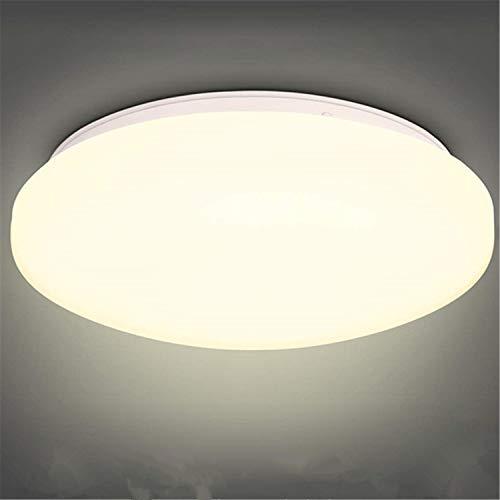 Albrillo Plafoniera LED Soffitto - 18W Lampada da Soffitto Ø27cm, Luce Bianca Calda 3000K 1400Lumen, Impermeabile IP44, Plafoniera Bagno per Camera da Letto, Cucina o Soggiorno a Risparmio Energetico