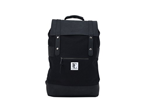 Forbes & Lewis Spring Summer 18 Casual Daypack, 49 cm, Black