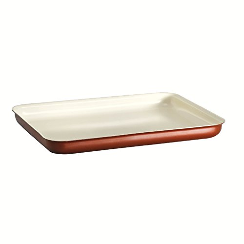 Tramontina 80110/055DS Style Ceramica 01 Baking Tray, 16 by 11-Inch, Metallic Copper