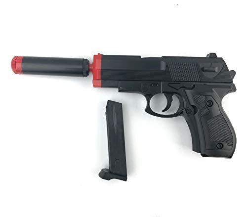 Media Wave Store Pistola Giocattolo VINPORTEX per Bambini 129422 con Pallini e silenziatore