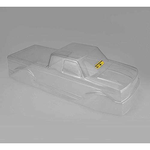 J Concepts 0326 1993 Ford F-250 Super Cab Monster Truck Clear Body with Racerback