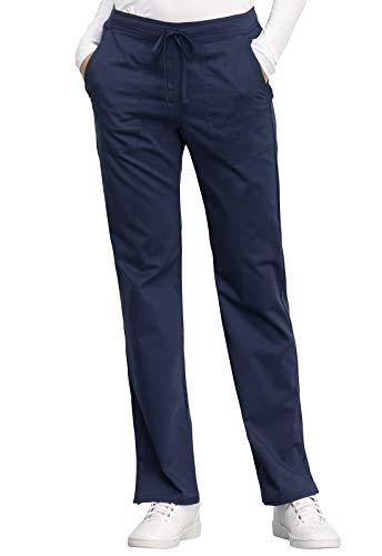 Cherokee Odzież robocza Revolution WW005 damskie średni stan proste nogawki spodnie ze sznurkiem