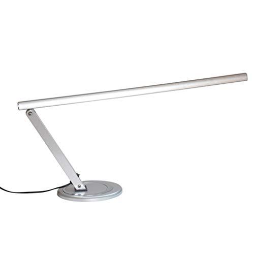 IGOSAIT Lampade da tavolo, di personalità semplice creativi risparmio energetico Lights Camera alluminio Vernice ha condotto la lampada Eye, Lampada da comodino, Ufficio Leggi Silver lettura luce di n