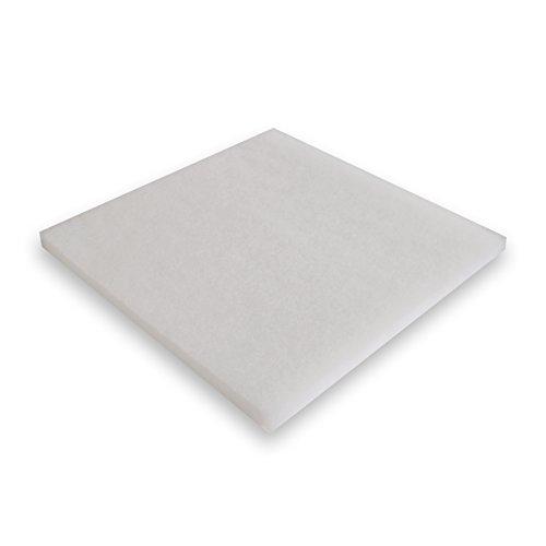 Synfil 300 Filtervlies weiß im Format 50 x 50 x 2,5cm für Teichfilter oder Aquarienfilter