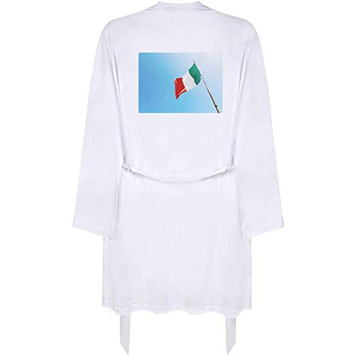 Azeeda Klein 'Italienische Flagge' Erwachsene Dressing Robe / Kleid (RO00001276)