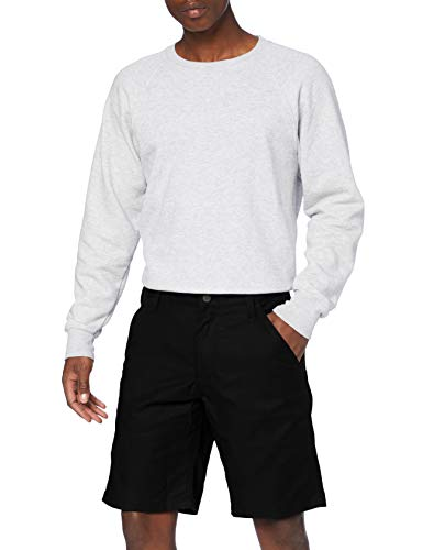 Carhartt Herren Rugged Professional Stretch Canvas Shorts, Black, W30