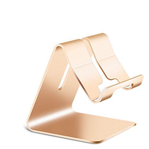 Metal Teléfono Móvil Soporte Plegable Aleación De Aluminio Cargante Stent Tablet Bracket Xialinr (Color : Z1 Golden)