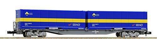 TOMIX Nゲージ コキ107形 増備型 ・ 西濃運輸コンテナ付 8731 鉄道模型 貨車