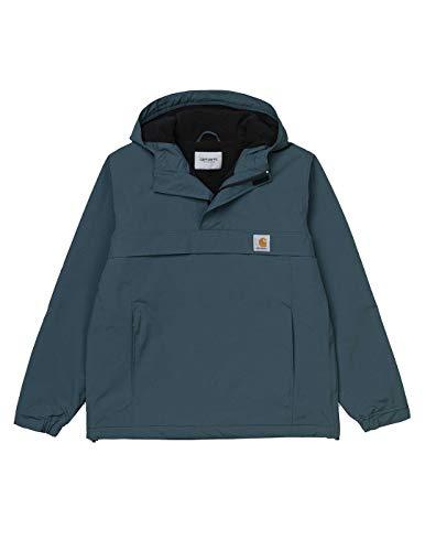 Carhartt - Chaqueton Nimbus Pullover - I027639 Duck Blue - Grün, L, Large