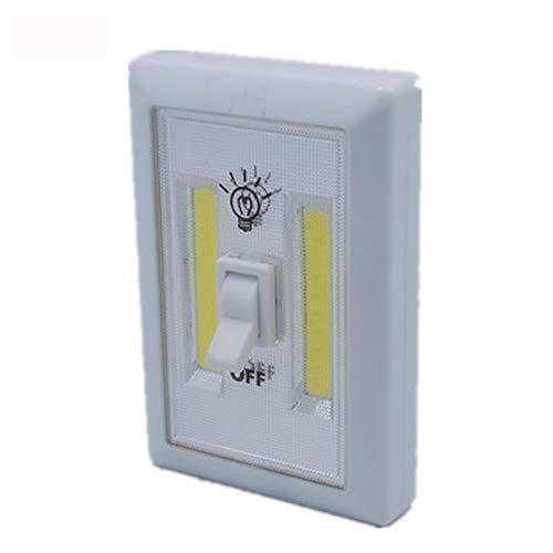 COB LED interruptor de luz, práctico duradero inalámbrico grifo luces para armario cobertizo ático interruptor de luz de emergencia