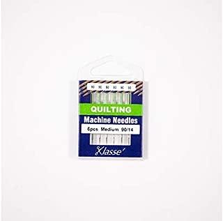 Klasse Quilting Needles, Size 90/14, 1 Pack, 6pcs, AA5106.090