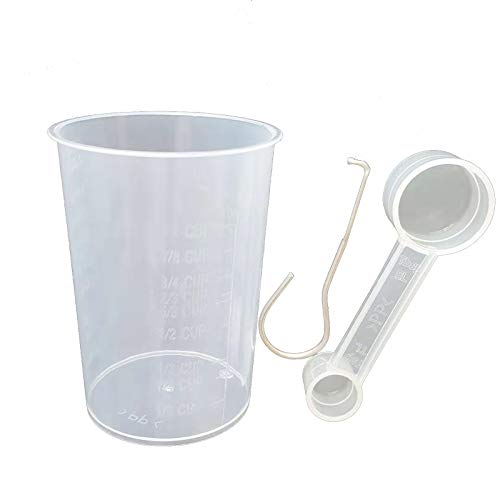 LICHIFIT 300ml Measuring Cup & Spoon & Paddle Removal Tool Kit for Bread Maker Machine Spare Parts