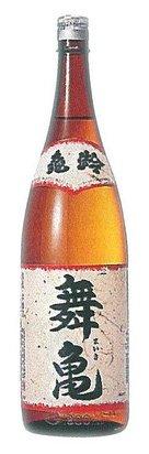 亀齢 本醸造 舞亀(まいき) 1800ml