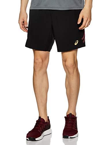 ASICS Icon Short Pantalones Cortos, Negro (Black 2011a316-913), L para Hombre