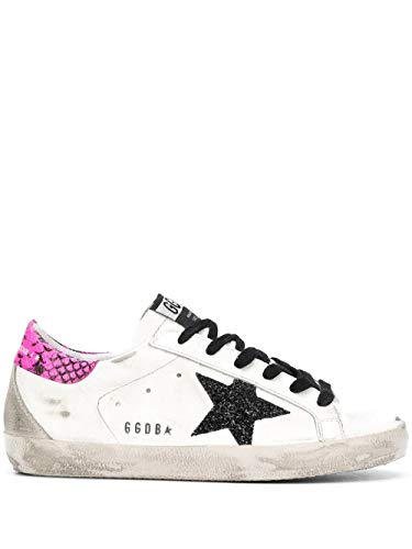Golden Goose Luxury Fashion Donna G36WS590S91 Bianco Sneakers |