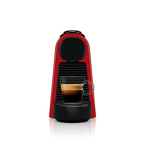 Cafeteira Nespresso Essenza Mini Vermelha 110V + 50 Cápsulas de Café Ispirazione Ristretto Italiano