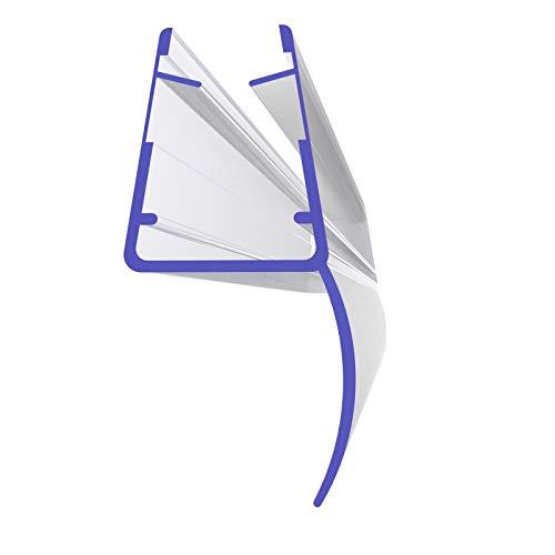 Duschdichtung 201cm 2010mm für 5mm, 6mm, 7mm und 8mm 8857 Glasstärke Mitteldichtung Ersatzdichtung Duschprofil Duschtürdichtung