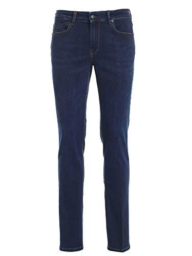 Hogan Jeans 5 Tasche BLU KPM8241307LRJPU807 Blu Uomo 32
