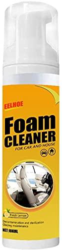 LXTOPN Limpiador de espuma para coche, multifuncional, para coche y casa, sabor a limón, 1 unidad
