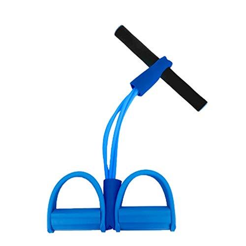 TONG Pedal del Rally Abdominales Assist Inicio Mujer Pérdida de Peso Delgada de estómago Abdomen Estiramiento de la Cuerda aparatos de Ejercicios de Yoga Aptitud física (Color : Blue)