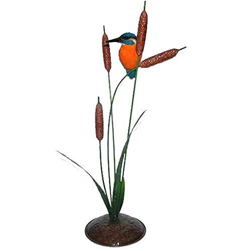 Mish Mash Gifts Vivid Arts XMW-SC19-D Eisvogel-Figur aus Kunstharz auf Metallhülsen