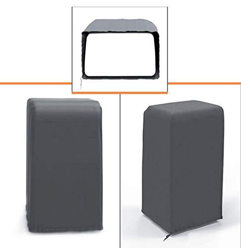perfecthome Protección contra el polvo para el sistema de aire acondicionado Protección contra el polvo para el sistema de aire acondicionado móvil Cubierta protectora para el sistema de proficient