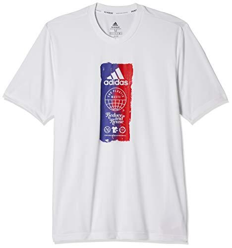 adidas M Fto ICN T T-Shirt für Herren S weiß