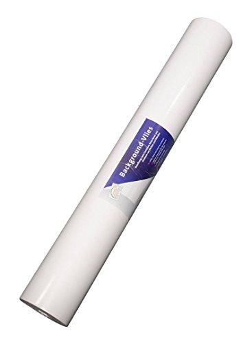 Leco Backgound Glattvlies Tapete, zum Überstreichen, Design 63200, 0,75 x 25 Meter
