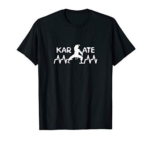 Karate Kampfkunst Herzschlag T-Shirt