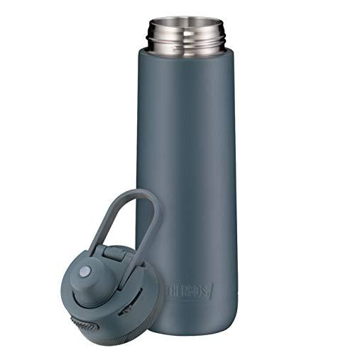Thermos Guardian Line Isolier-Trinkflasche 700 ml Lake Blue   Doppelwandiger Edelstahl, einfaches Handling, perfekte Größe   Absolut dicht und auslaufsicher [18/8 Edelstahl, Polypropylen, Silikon]