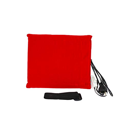 Electric Hot Pad- Thermopress- For Pain Relief-pain reliever- Heat Therapy- Small- Red