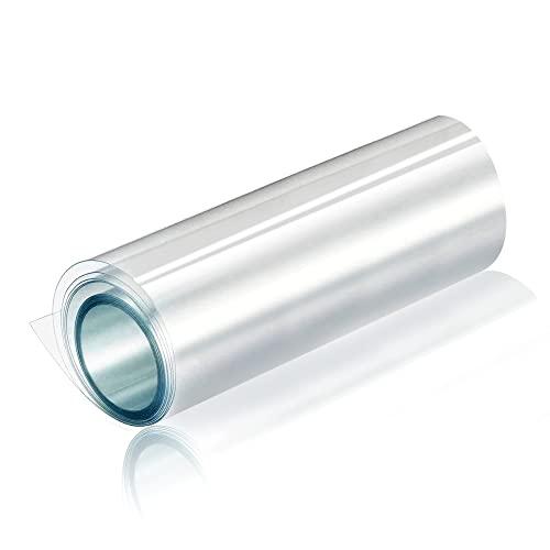 CompraFun Pellicola Adesiva Per Auto, Pellicola Protezione Fibra Rivestimento Adesivo Trasparente Car Sticker Wrapping Auto Moto Bici, 300X30Cm