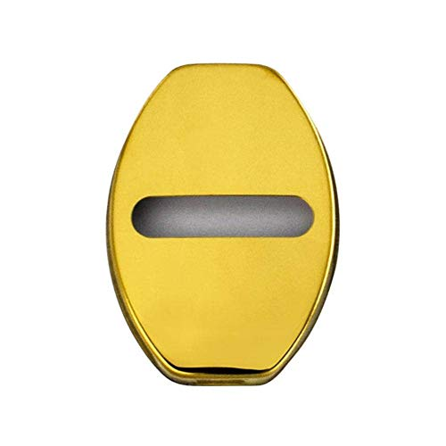 SDJKH Cubierta De Protección De Cerradura De Puerta De Coche, Cubierta Decorativa con Hebilla De Bloqueo, para Audi S Line A1 A3 A4 A4L A5 A6L A6 A8 B4 B5 B6 B7 B8 TT Q7 Q5