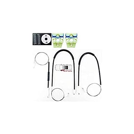 Off Side Pulley UK Driver Side Pulley Housing OSF O//S LTS AUTO ELECTRIC WINDOW REGULATOR REPAIR KIT FRONT RIGHT SIDE Window Regulator Cables Clips