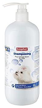 Beaphar - Shampooing Bulles pelage blanc ou clair - chien - 1 L