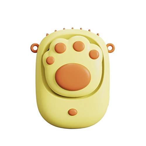 Lsdnlx Ventilador,Ventilador portátil USB Cat Paw Ventilador de Cuello Colgante inalámbrico Compacto y Conveniente Air Co A6HE