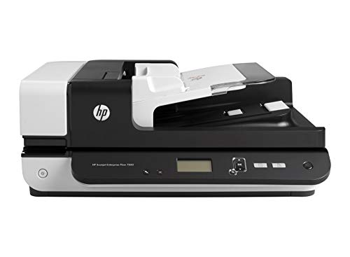 Best Price! HP Scanjet Enterprise 7500 Flatbed Scanner, 600 x 600 dpi