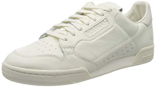 adidas Herren Continental 80 Sneaker, Off White/Off White/Off White, 45 1/3 EU