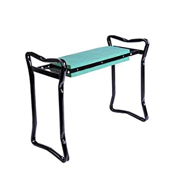 Outsunny Folding Garden Kneeler/Kneeling Bench Chair, Green