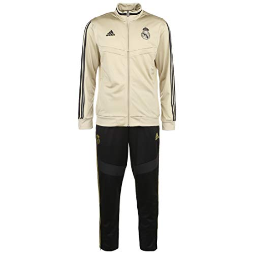 Adidas Real PES Suit trainingspak, heren, oronat/zwart, XL
