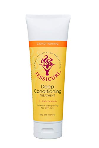 Jessicurl Deep Conditioning Treatment, Island Fantasy, 8.0 Fluid Ounce by Jessicurl
