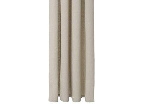 Ferm Living Chambray Duschvorhang, Bio-Baumwolle, Sand, B: 160 x T: 205 cm